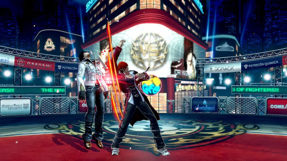 Presentan luchaores de The King of Fighters XIV