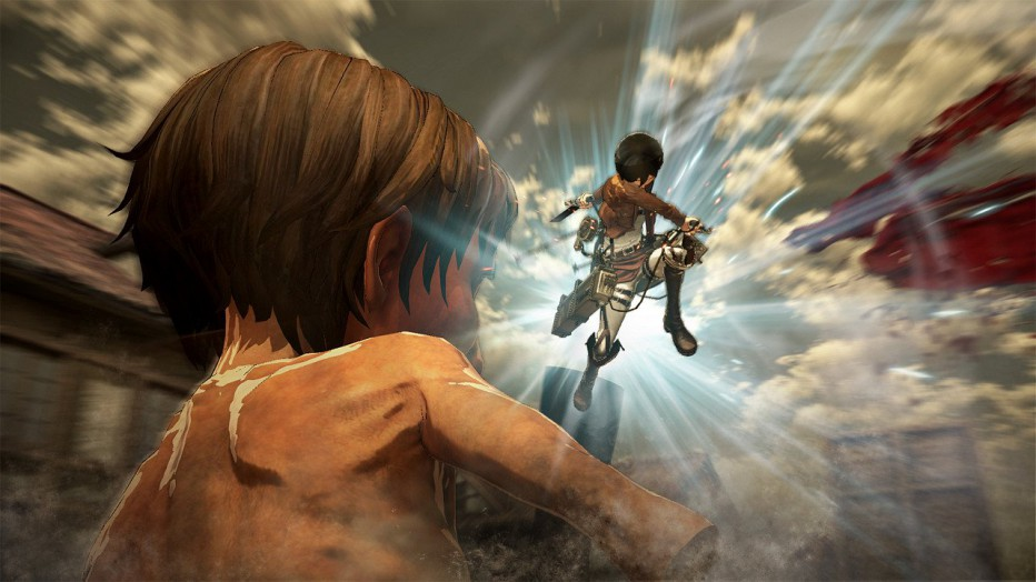 ¡Gameplay extendido Attack on Titan!