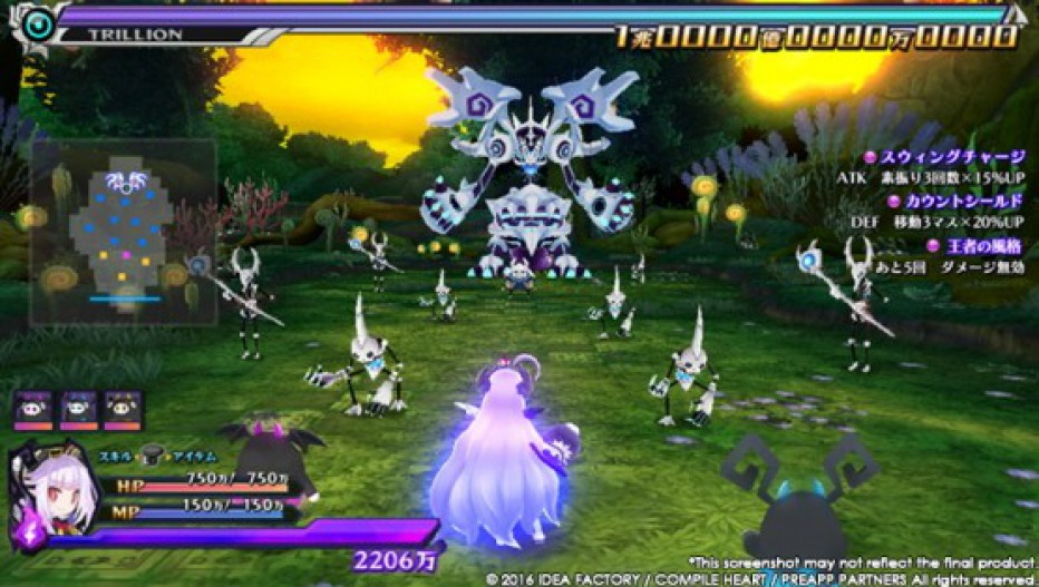 Nuevo contacto con Trillion: God of Destruction