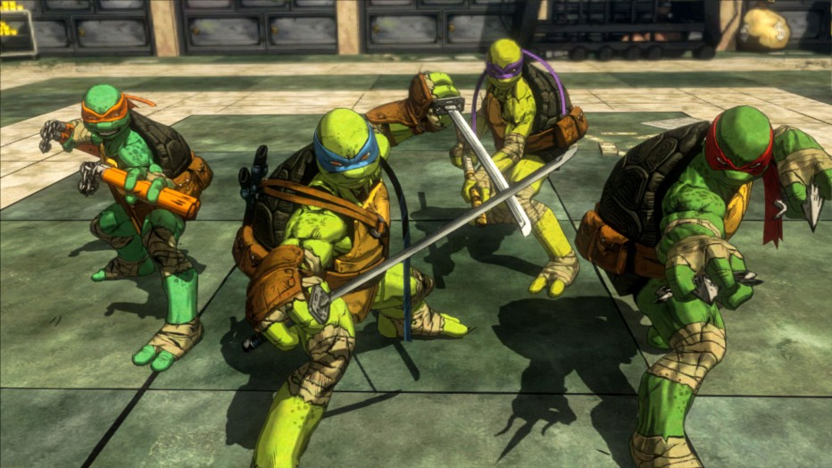 ¡Las tortugas Ninja te muestran sus jefes! #Video