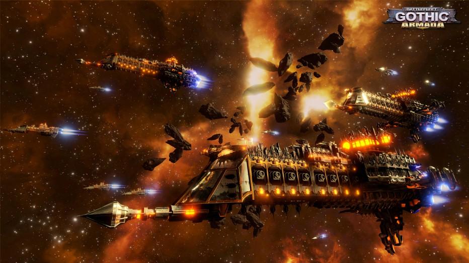 Primer contacto con Battlefleet Gothic: Armada