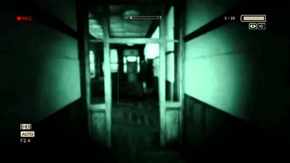 Primer contacto con Outlast 2. #Miedo