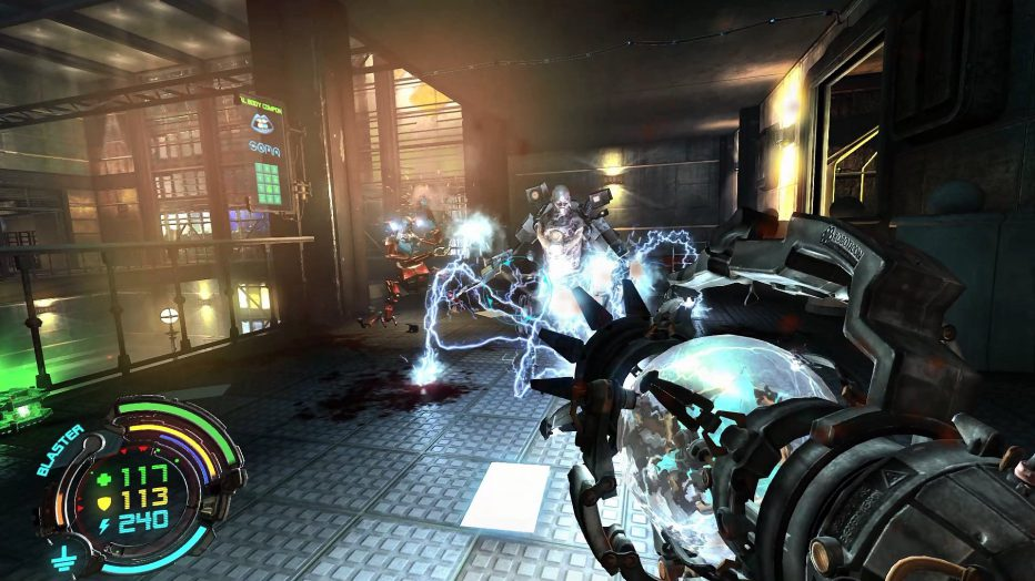 Gameplay extendido de Hard Reset: Redux