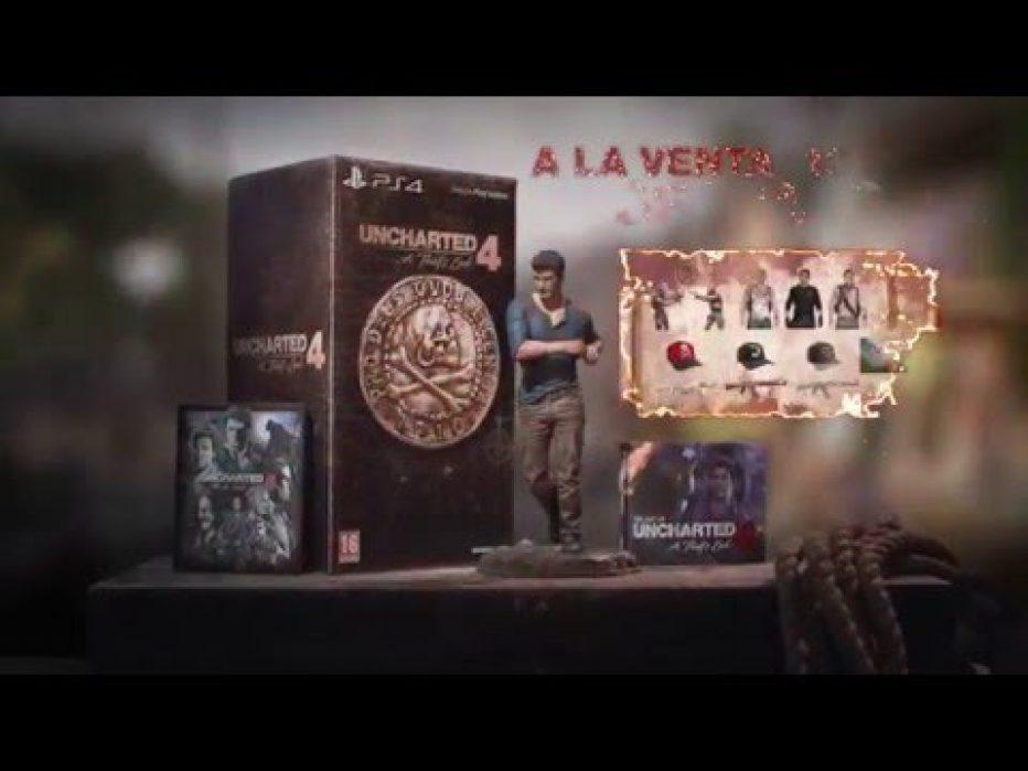 Uncharted 4 y una espectacular edición coleccionista