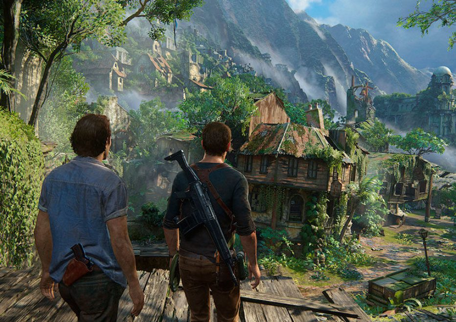 30 minutos infartantes de UNCHARTED 4