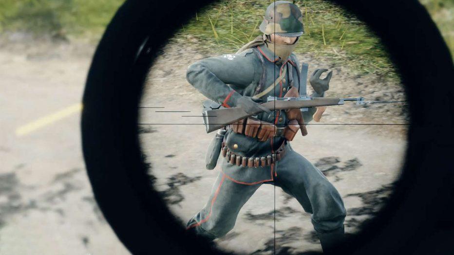 Campeando en Battlefield 1