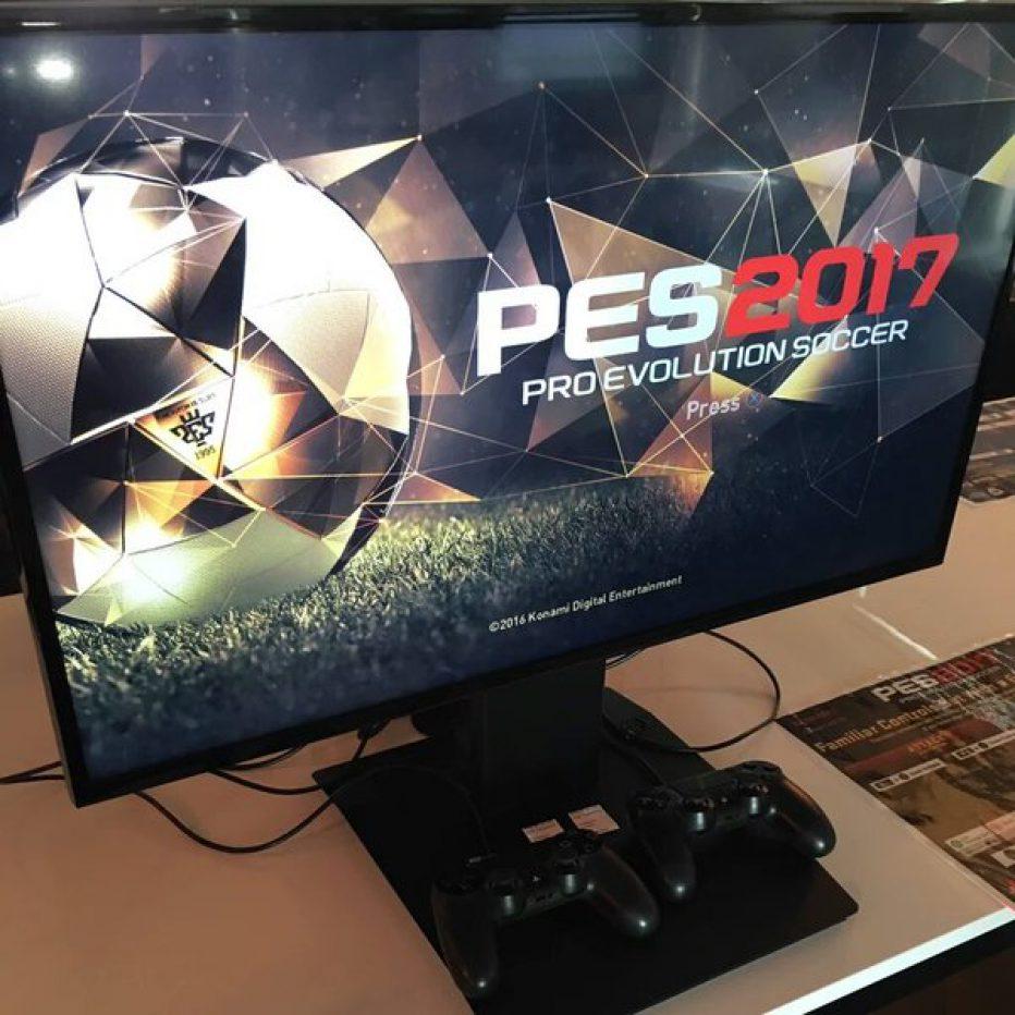 PES 2017 ya tiene fecha de lanzamiento