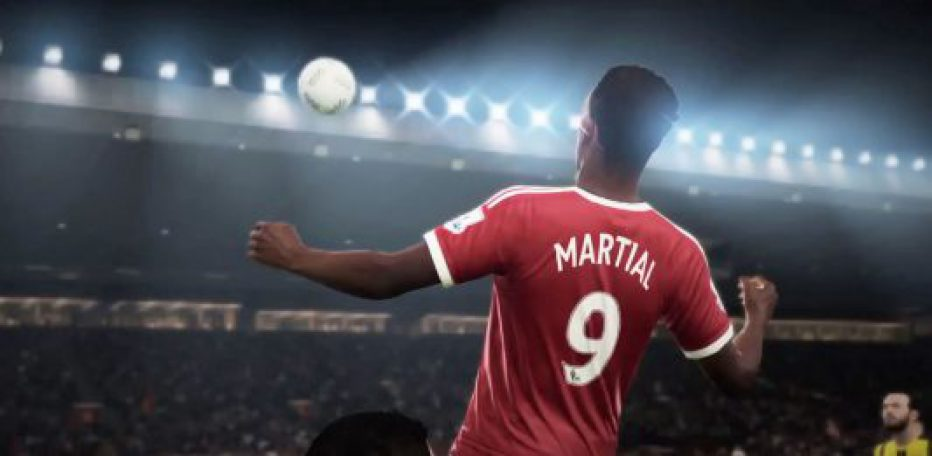 #Fifa17: gameplay con Anthony Martial en acción