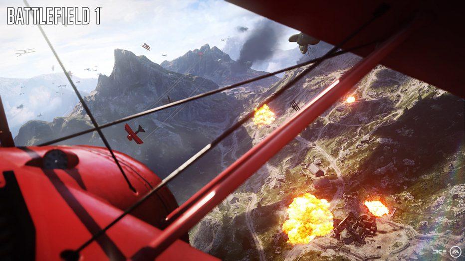 Dominando los cielos en Battlefield 1
