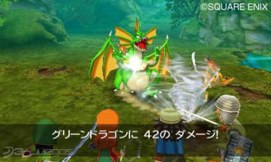 Gameplay de Dragon Quest VII. #3DS