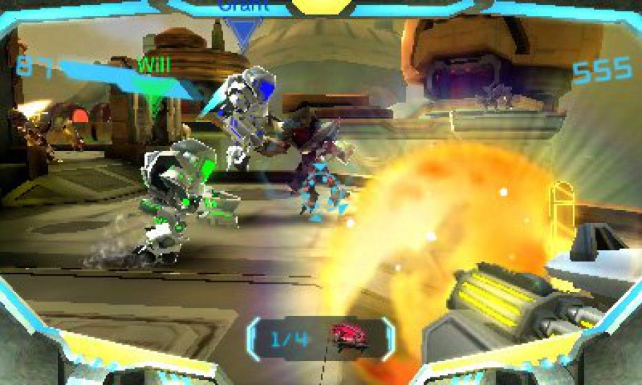 ¡Gameplay extendido de Metroid Prime: Federation Force!