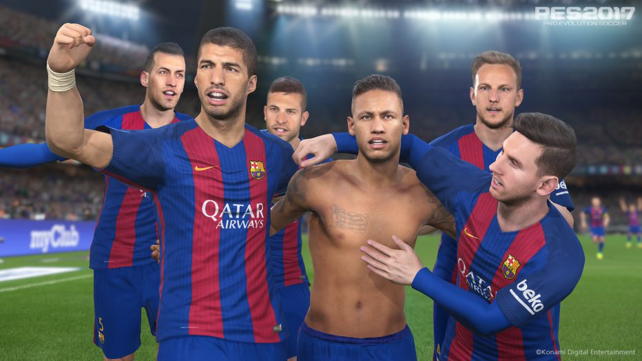 ¡#PES2017 con Barcelona como protagonista! Video + Portada + detalles