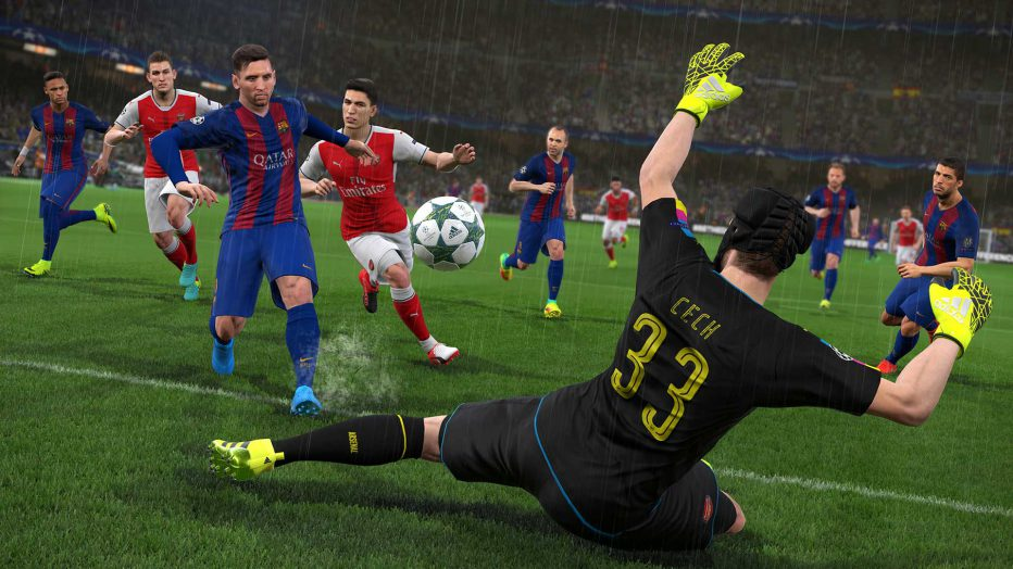 ¡#PES2017 primeros Gameplays!