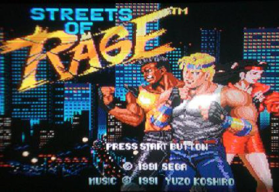 STREET OF RAGE cumple 25 años