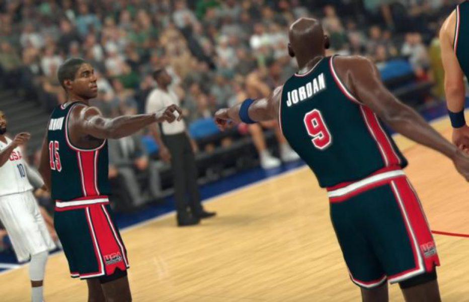 El mítico Dream Team llega a NBA 2K17