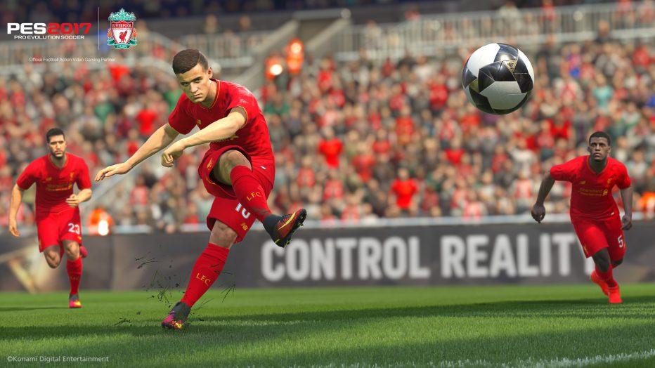 ¡El Liverpool firma acuerdo con PES 2017! #Gamescom