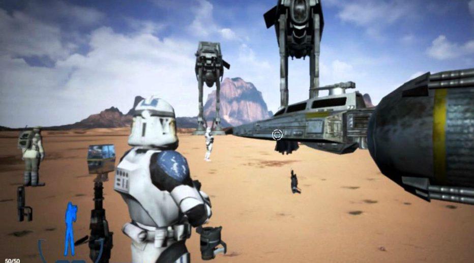 Se filtra material del cancelado Star Wars Battlefront 3