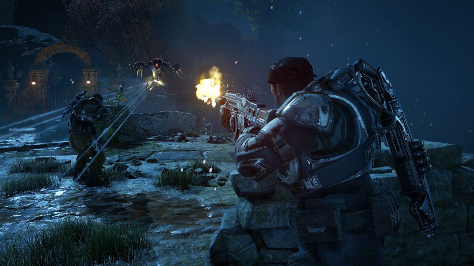 Gears of War 4 ¡un trailer que te vuela la peluca!
