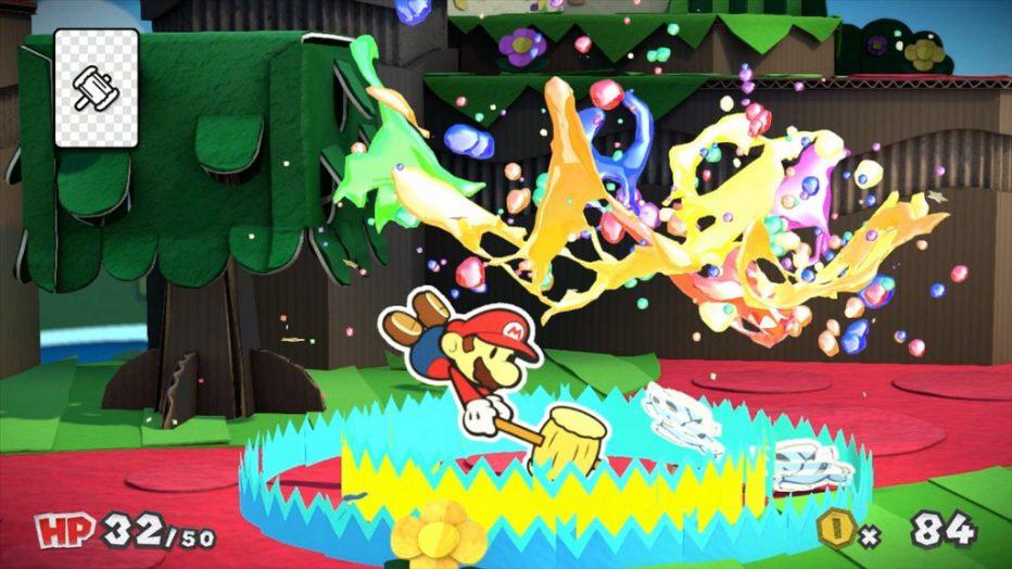 Más Mario para WiiU con Paper Mario: Color Splash