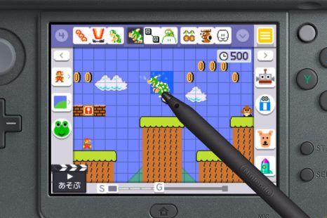 Contacto con Super Mario Maker para 3Ds