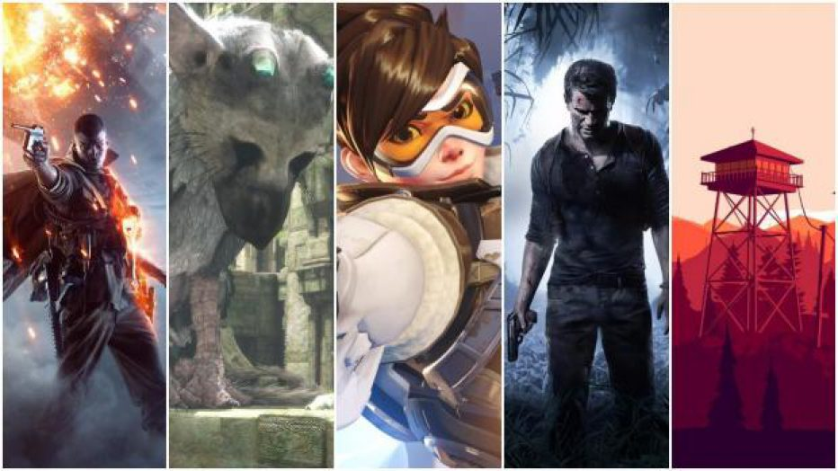 ¿Cuáles fueron los mejores juegos de 2016?