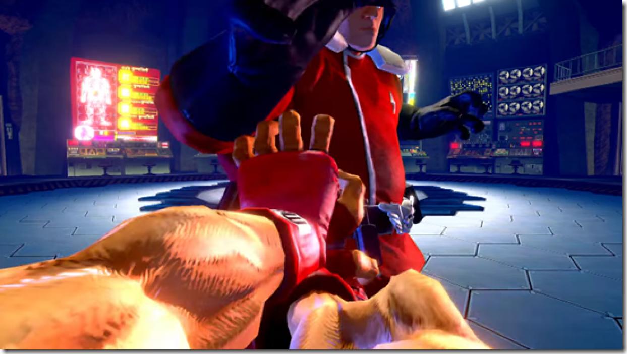 Ultra Street Fighter II: The Final Challengers ¡con modo primera persona!