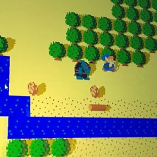 Breath of the Wild tuvo su versión 8 bits