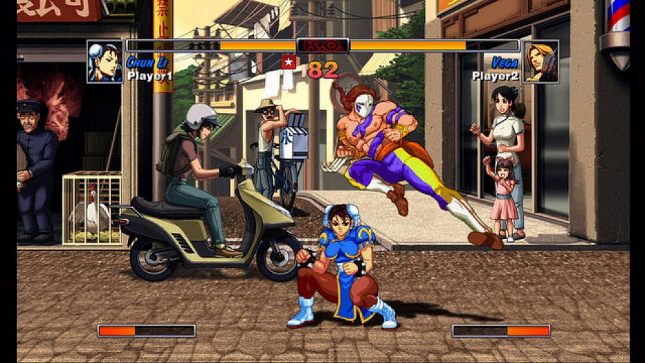 Street Fighter II sigue ocultando secretitos