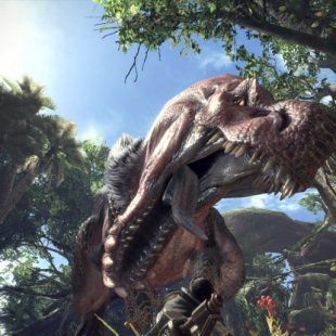 Super gameplay de Monster Hunter World