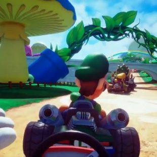 ¡Impactante! Así es Mario Kart Arcade GP VR