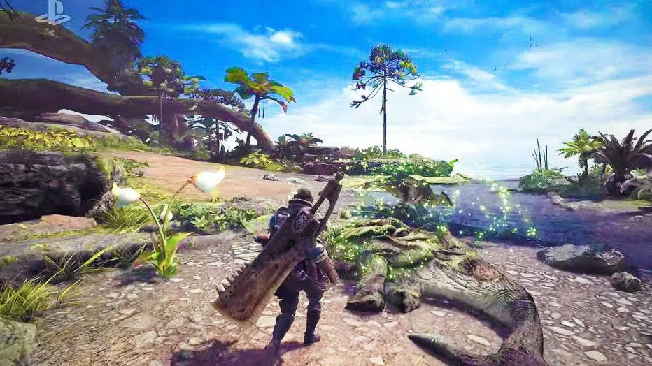 Monster Hunter World  ¡muestra sus armas!