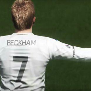 ¡David Beckham llegará a PES 2018!
