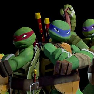 ¡Vuelven las Tortugas Ninja más copadas!