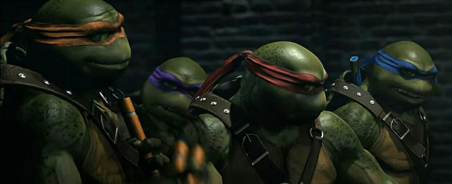 ¡Las tortugas Ninja enINJUSTICE 2!