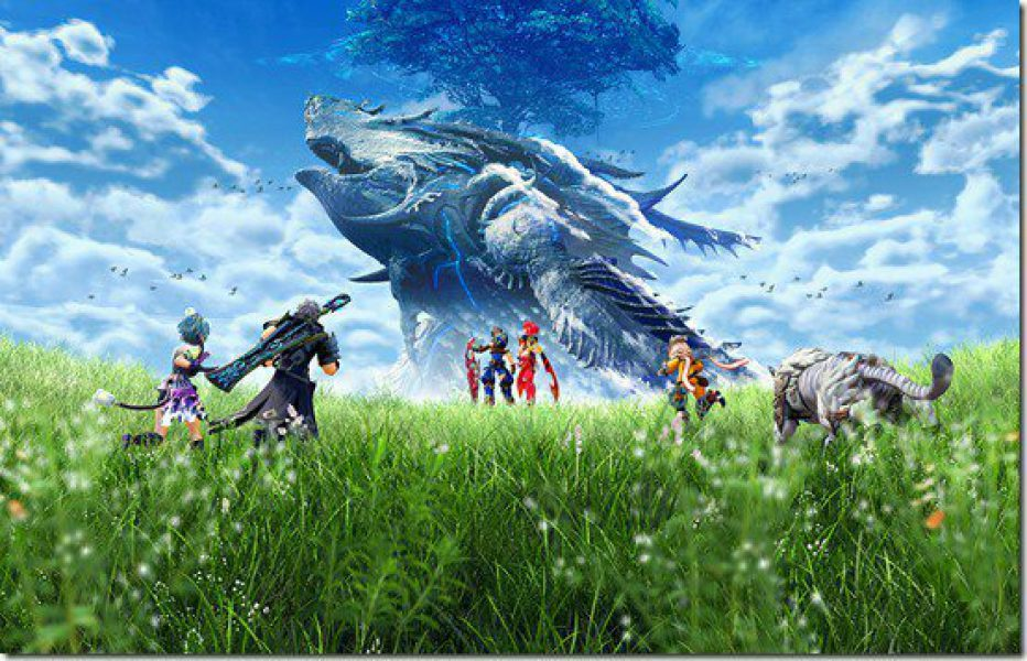 XENOBLADE CHRONICLES 2 gameplay comentado