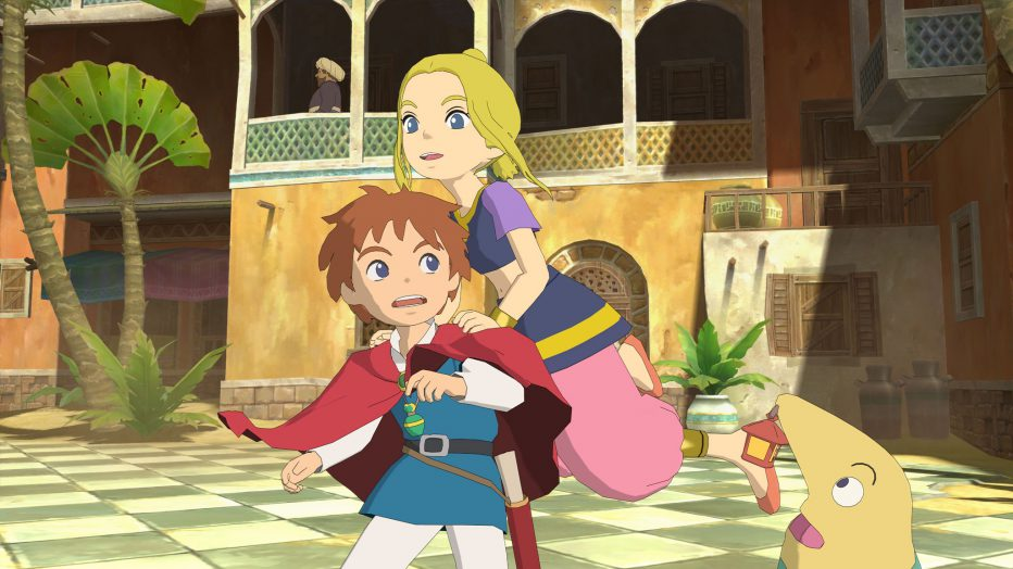 Gameplay extendido de Ni no Kuni II