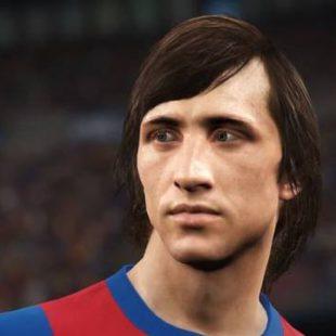 ¡Cruyff llega a PES2018!