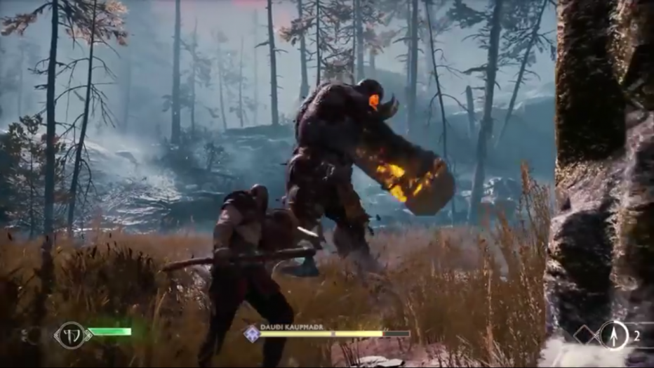 ¡Conocé el nuevo sistema de combate de God of War!