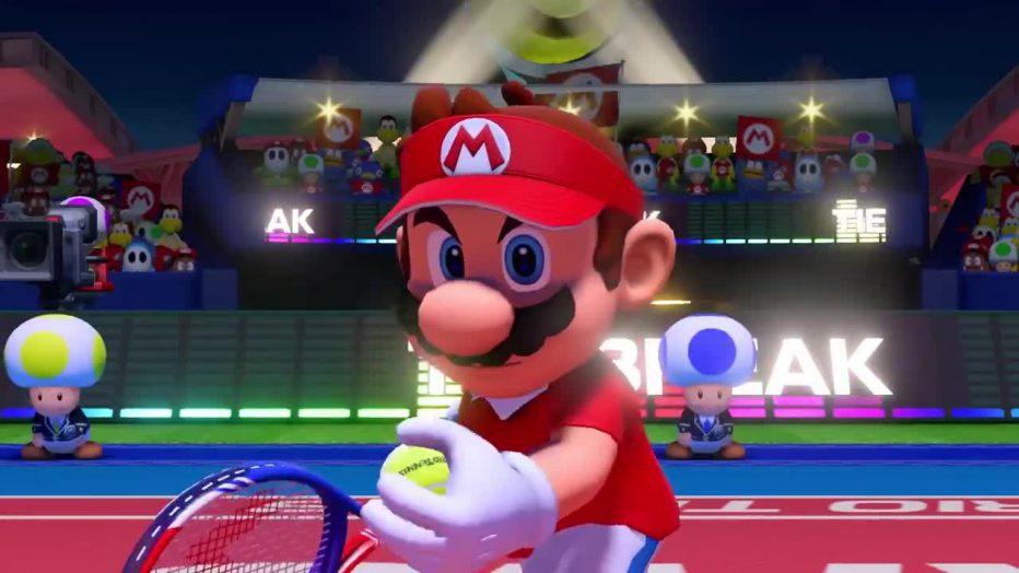 Hacé contacto con Mario Tennis Aces