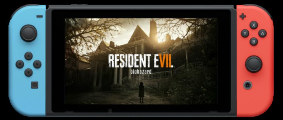 ¡Resident Evil 7 llega a Nintendo Switch!