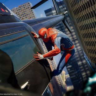 Spiderman de Play 4 en la vida real