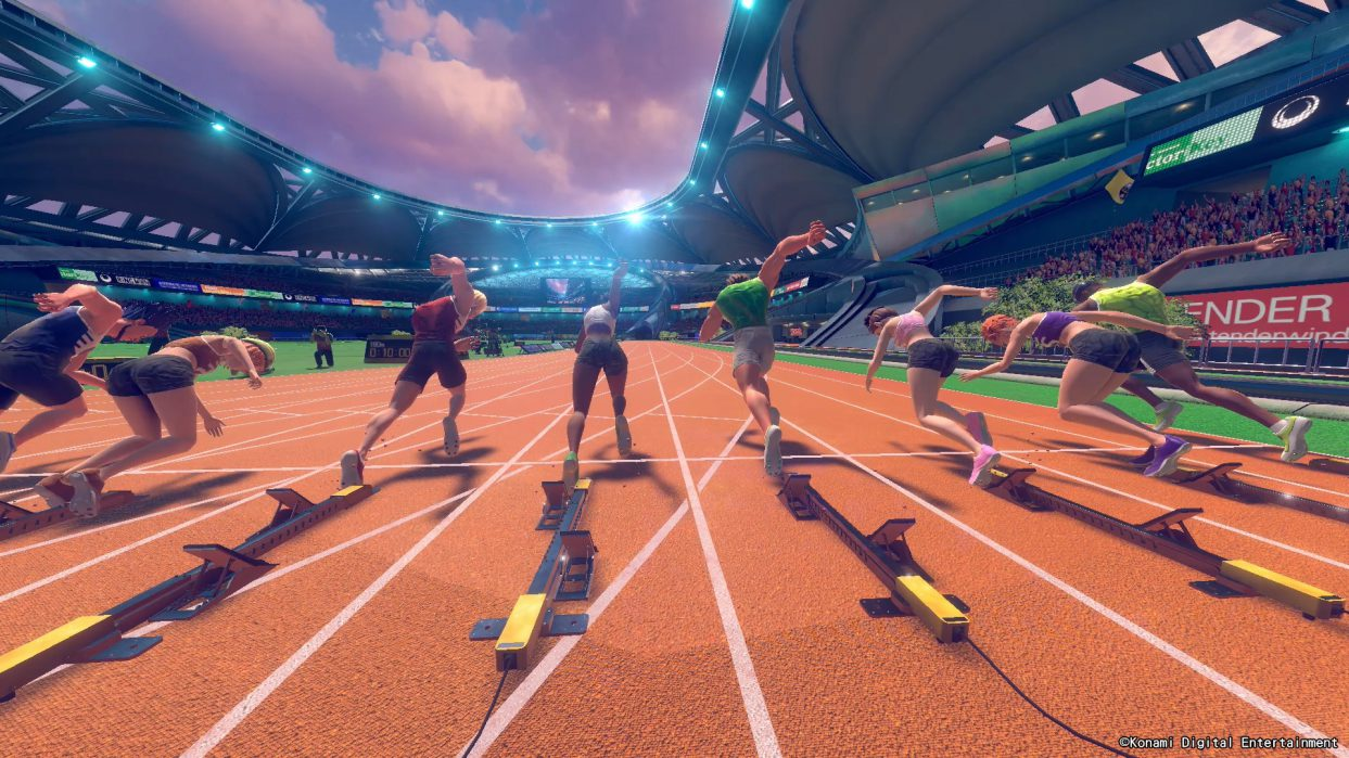 Konami lanza el heredero de Track and Field en Switch