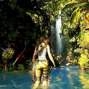En Shadow of the Tomb Raider el entorno es tu aliado