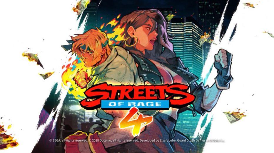 Vuelve un clásico ¡Streets of Rage 4!