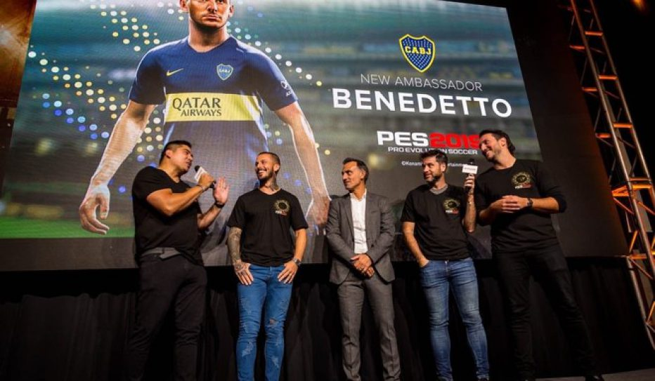 Konami obtiene la exclusividad de licencias de Boca Juniors